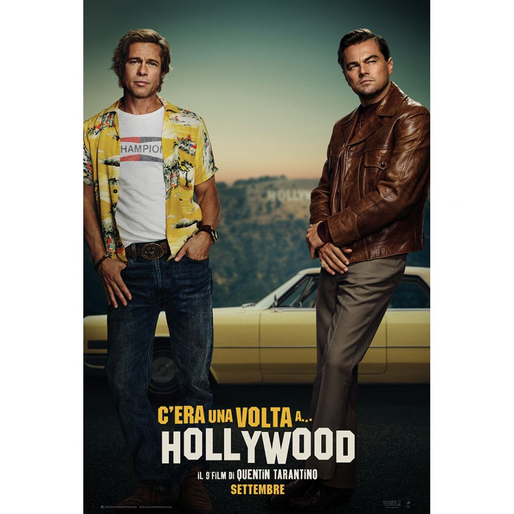 C'era una volta a Hollywood, con DiCaprio e Pitt, il trailer