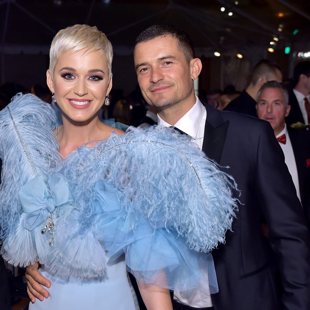 Katy Perry compra all'asta il fidanzato Orlando Bloom