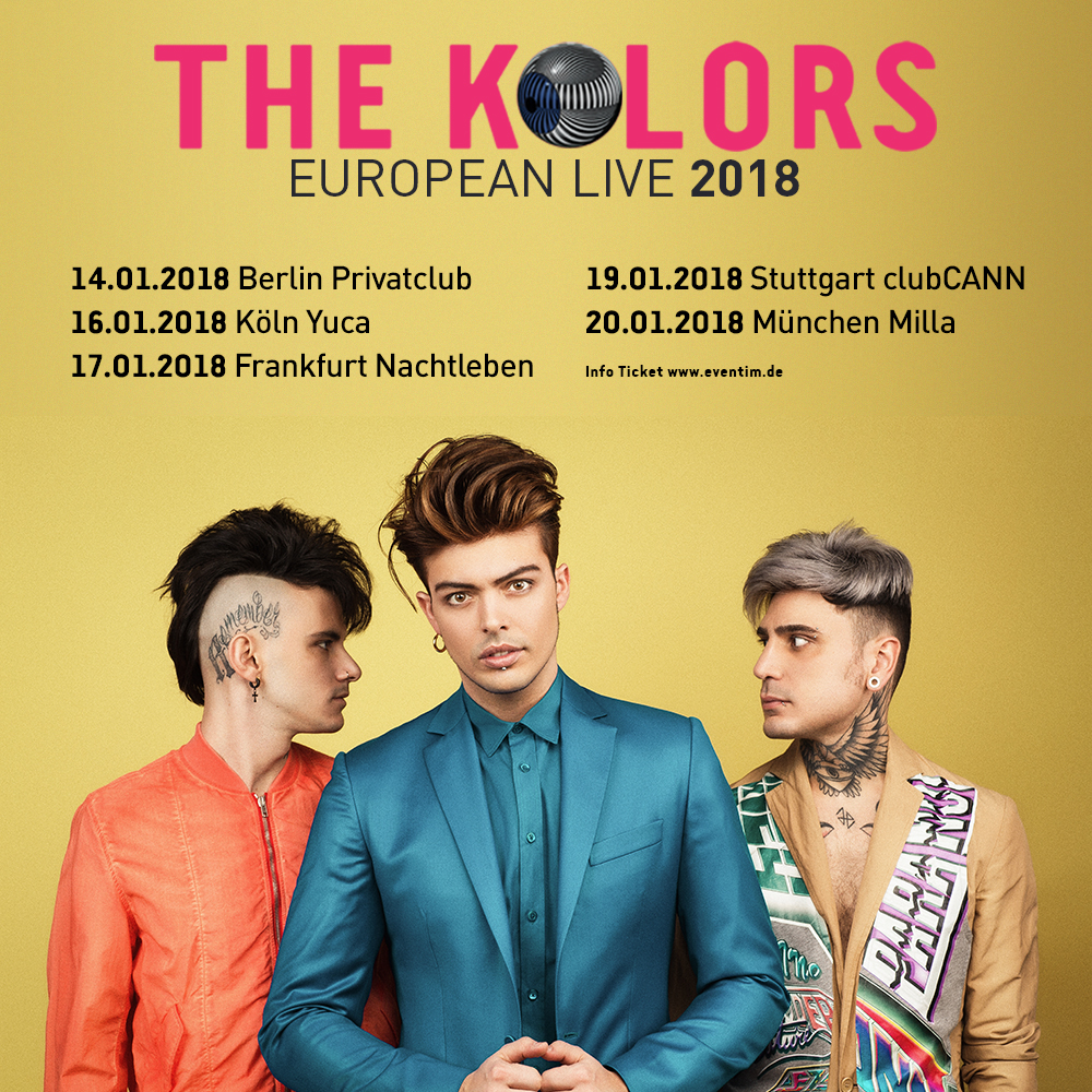 """The Kolors: """"A gennaio saremo in tour in Germania!"""""""