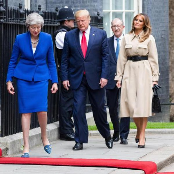 Regno Unito, Trump oggi ha incontrato Theresa May