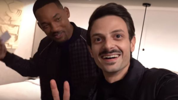(VIDEO) Una stanza in due per Rovazzi e Will Smith
