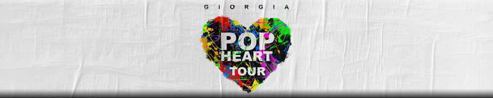GIORGIA – POP HEART TOUR