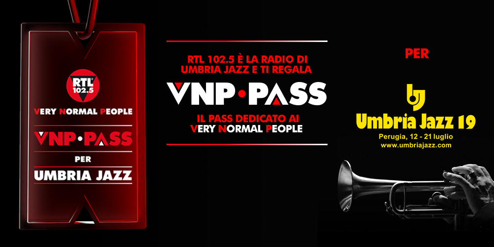 VNP PASS PER UMBRIA JAZZ 2019