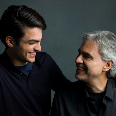 Andrea e Matteo Bocelli a RTL 102.5 - ospiti in The Flight