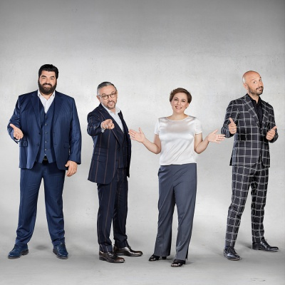 I giudici di Masterchef Italia a RTL 102.5 - ospiti in The Flight