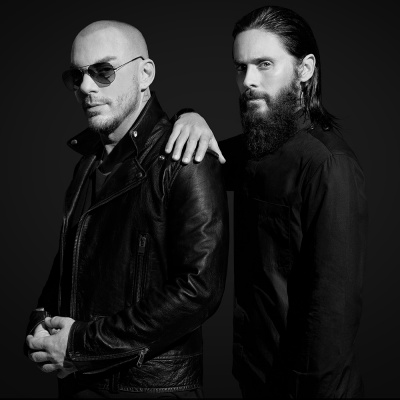 Jared Leto dei Thirty Seconds To Mars a RTL 102.5 - ospite in Protagonisti