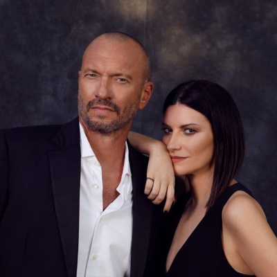 Laura Pausini e Biagio Antonacci a RTL 102.5 - ospiti in The Flight