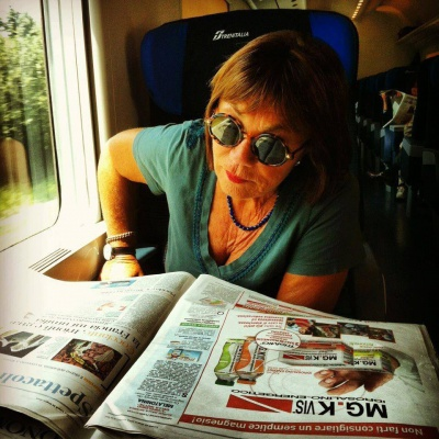Marinella Venegoni a RTL 102.5 - ospite in Password