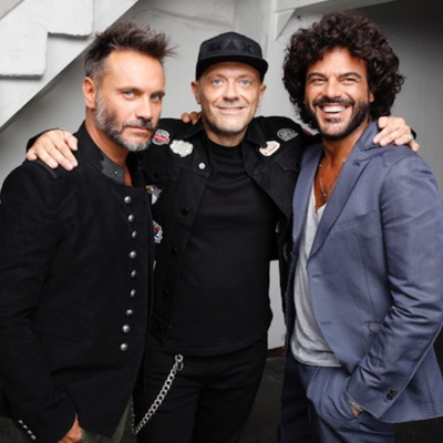 Max Pezzali, Nek e Francesco Renga a RTL 102.5 - ospiti in The Flight