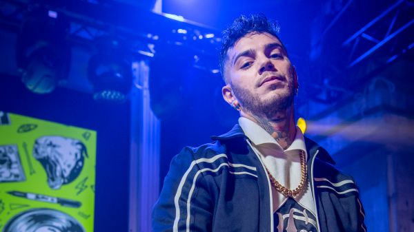 Emis Killa a RTL 102.5 - In collegamento in The Flight